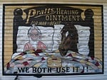 advertising, wall painting, heritage