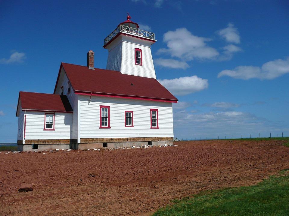 Lighthouse, Beacon, Light, Navigation, Landmark