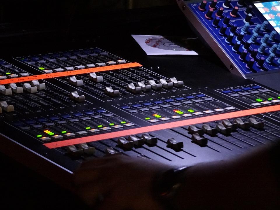 Free Photo Desk Mixer Music Studio Free Image On