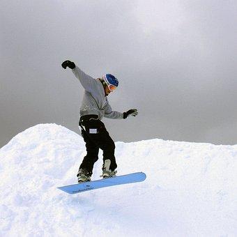 Snowboarder, Winter, Outdoor Aktivitäten