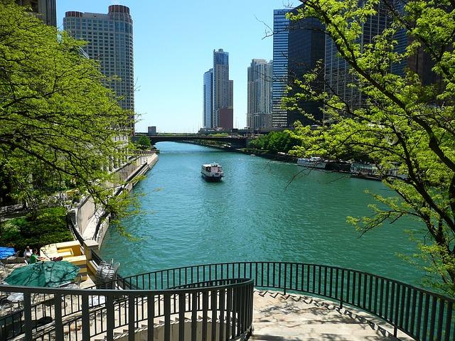 chicago river city  u00b7 free photo on pixabay