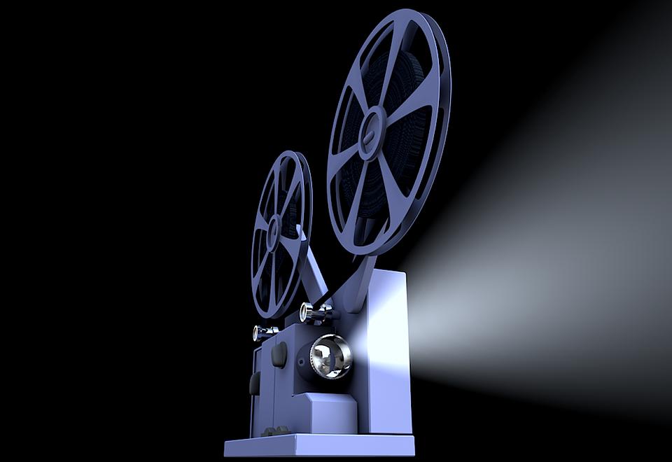 Кинопроектор, Проектор, Презентация, Фильм, Кино
