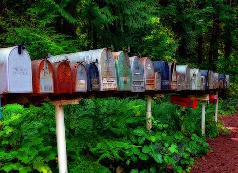 Mailbox, Postbox, Letters, Mails