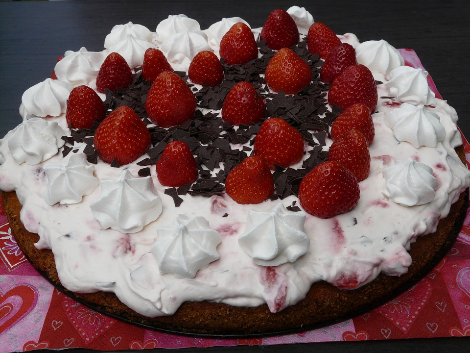Cake Strawberry Pie Strawberries 183 Free Photo On Pixabay
