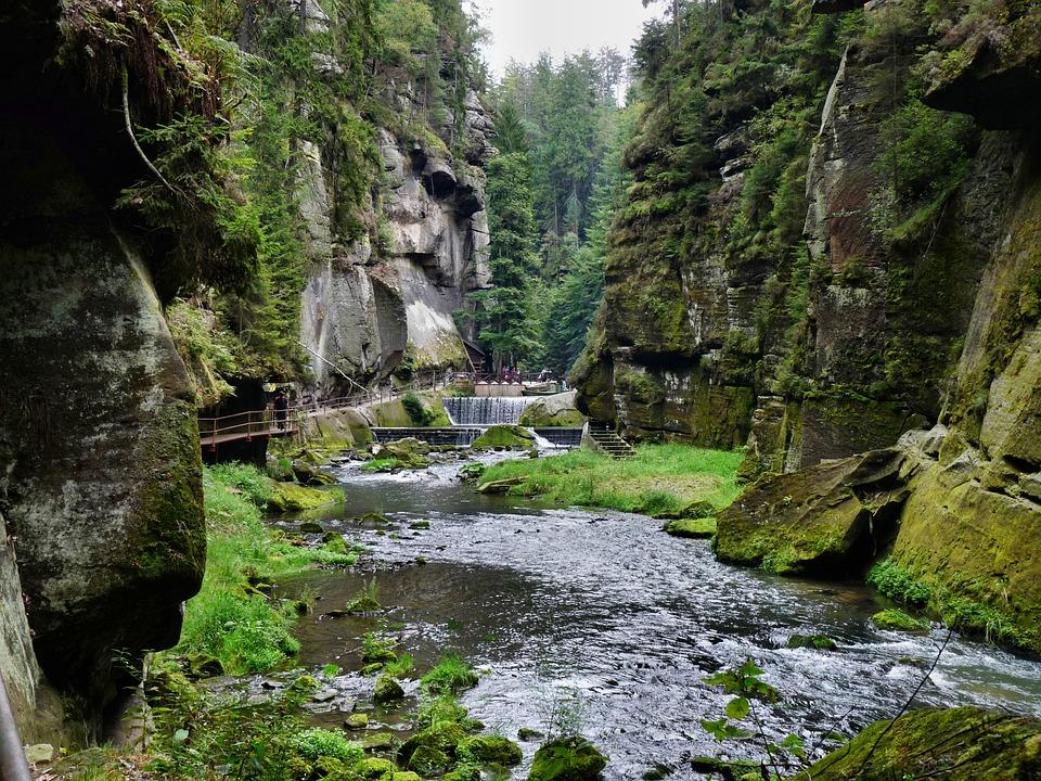 Krótka historia Czeskiej Szwajcarii