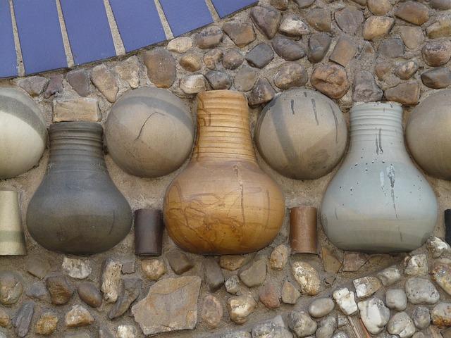 Stone Wall Art free photo: krug, jar, wall, walled up, art - free image on