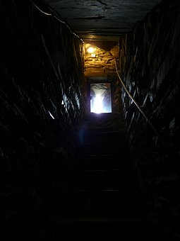 Cellar Outlet, Gang, Dark, Creepy