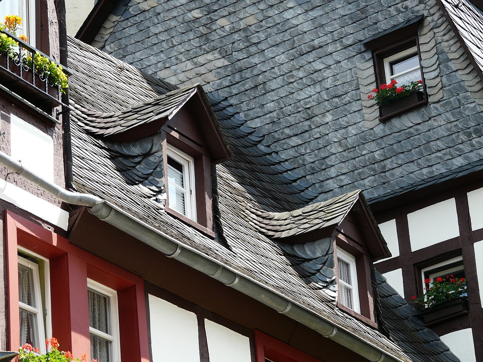 Roof Slate Gable - Free photo on Pixabay