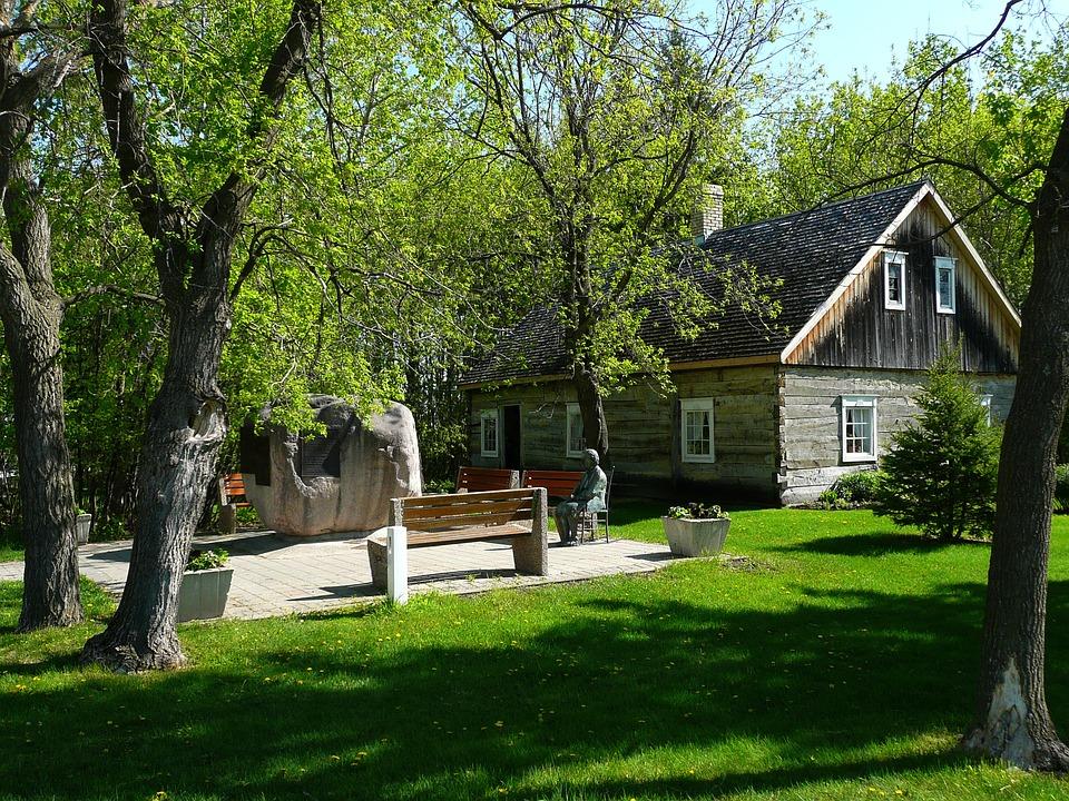 Steinbach, Mennonite Heritage Village, Manitoba, Canada
