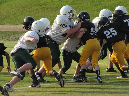 Football Game, Tackle, Sport, American
