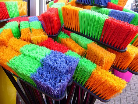 Brooms, Sweeping, Household, Cleaning
