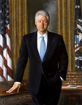Bill Clinton, Président, États Unis