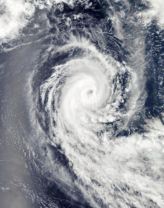 ハリケーン Benilde, 冬の嵐, 雲, 熱帯サイクロン, 竜巻, サイクロン, 台風, 風, 嵐, 空撮
