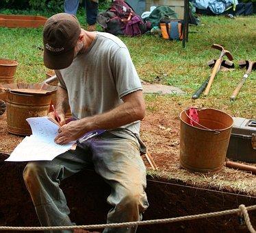 Arqueologia, Escavação Arqueológica