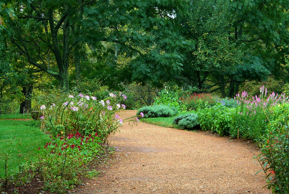 Garden path pea gravel sand free photo on pixabay for Garden path