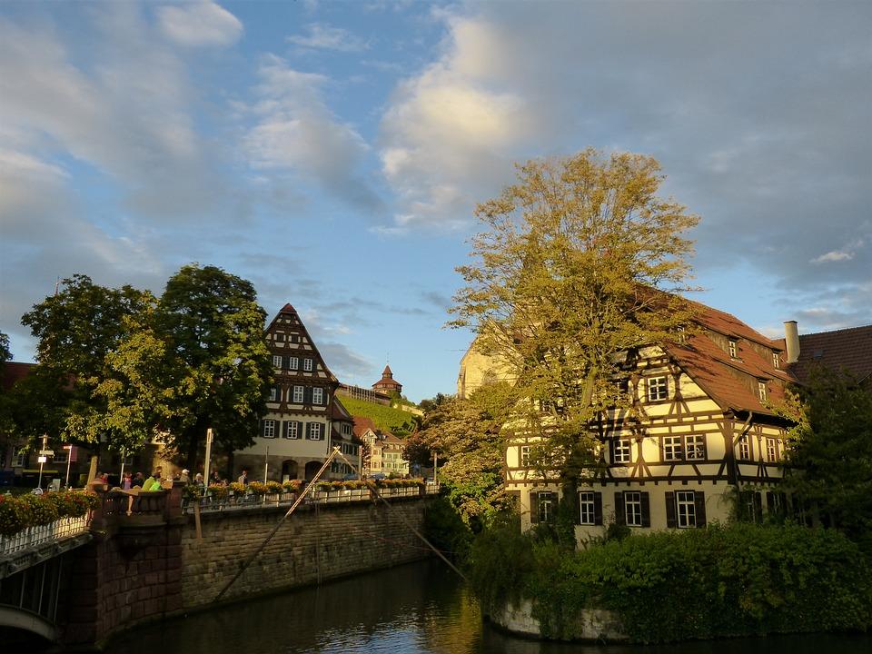Ucretsiz Fotograf Esslingen Eski Town Demet Evleri Pixabay