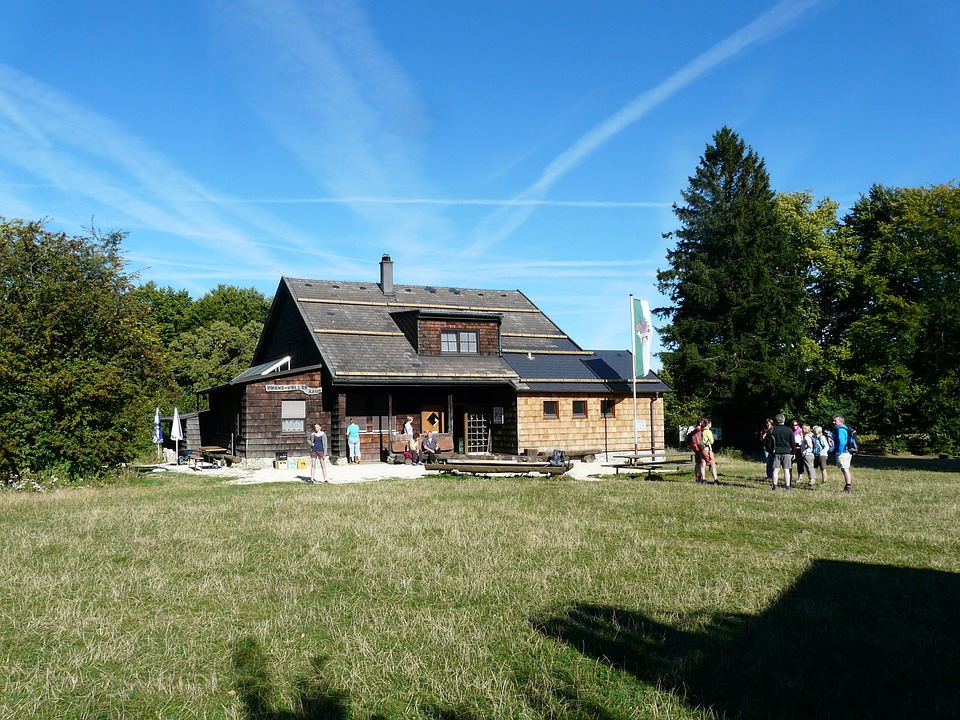 Kostenloses Foto Franz Keller Haus Wanderhütte