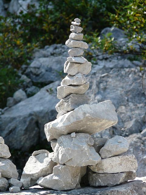 Free Photo Steinmann Cairn Stones Turret Free Image
