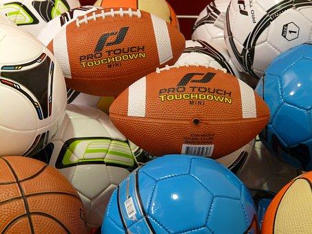 Bolas, Fútbol Americano, Piel De Cerdo