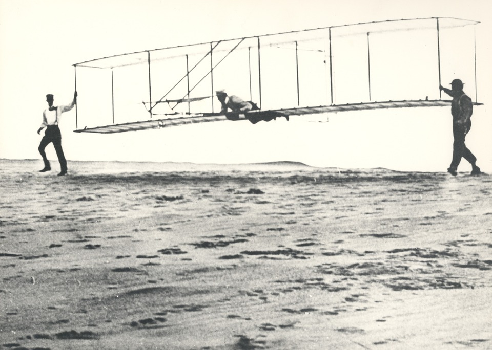 In which city did the Wright Brothers take off on their very first flight?