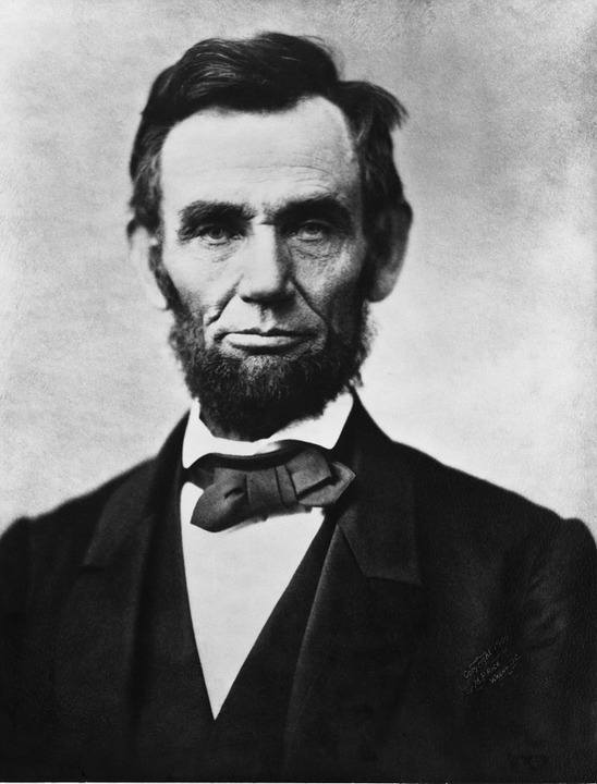 Abraham Lincoln, President, Portrait, United States