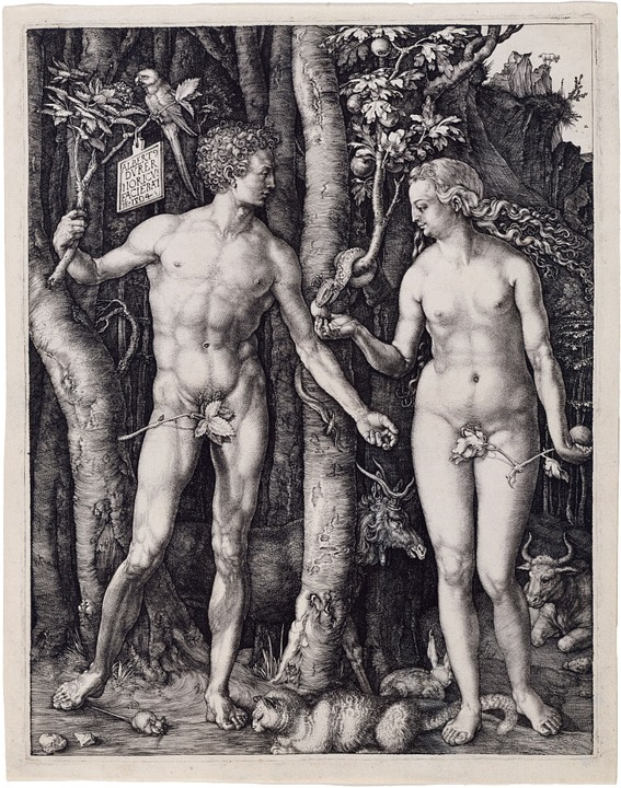 Адам И Ева, Религия, Альбрехт Дюрер, 1504, Христианство