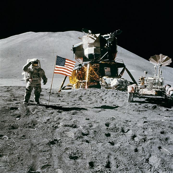 Reise til verdensrommet slik som månelandingen begynner å bli lenge siden