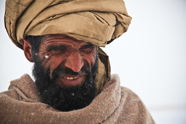 afghani man portrait free photo on pixabay