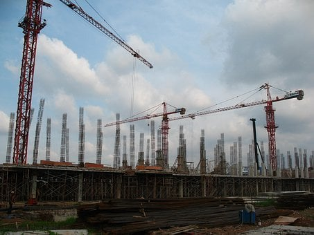 Construction, Building, Build, Industry