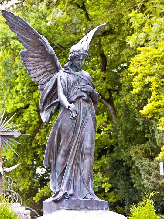 Angel Statue Cemetery 183 Free Photo On Pixabay