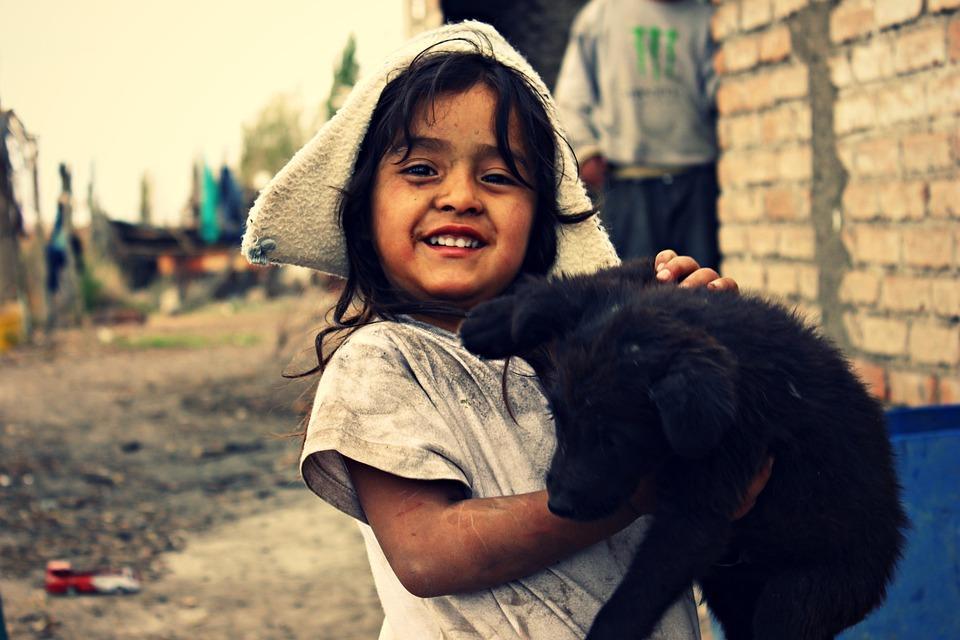 Girl Dog Poor  Free Photo On Pixabay-9213