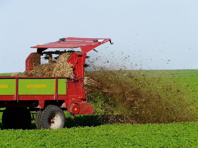 Free Photo Fertilize Crap Field Agriculture Free