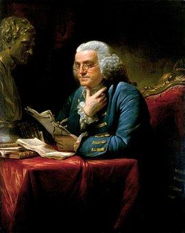 Benjamin Franklin, 1767, Écrivain