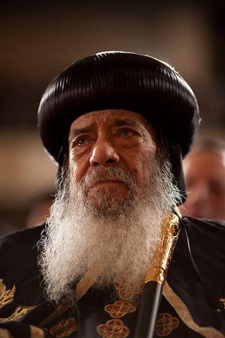 Turban, Shenuda Iii, Patriark, Bart