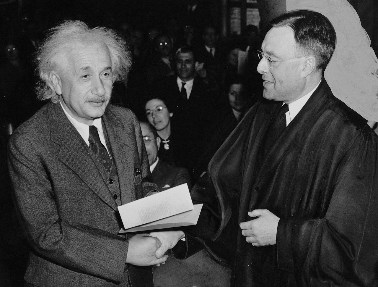 Einstein couldn't speak fluently when he was nine. His parents thought he might be retarded.