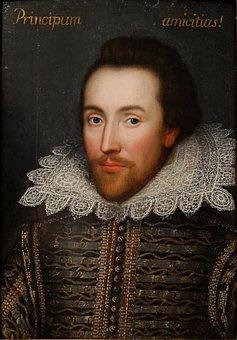 William Shakespeare Poet Writer Painting P