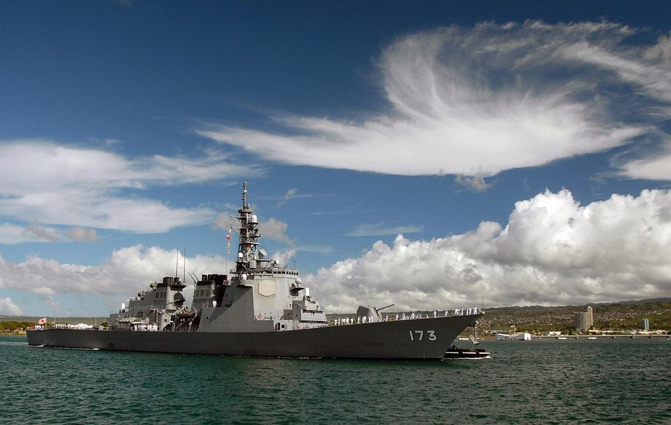 駆逐艦 軍艦 真珠湾 Pixabayの無料写真