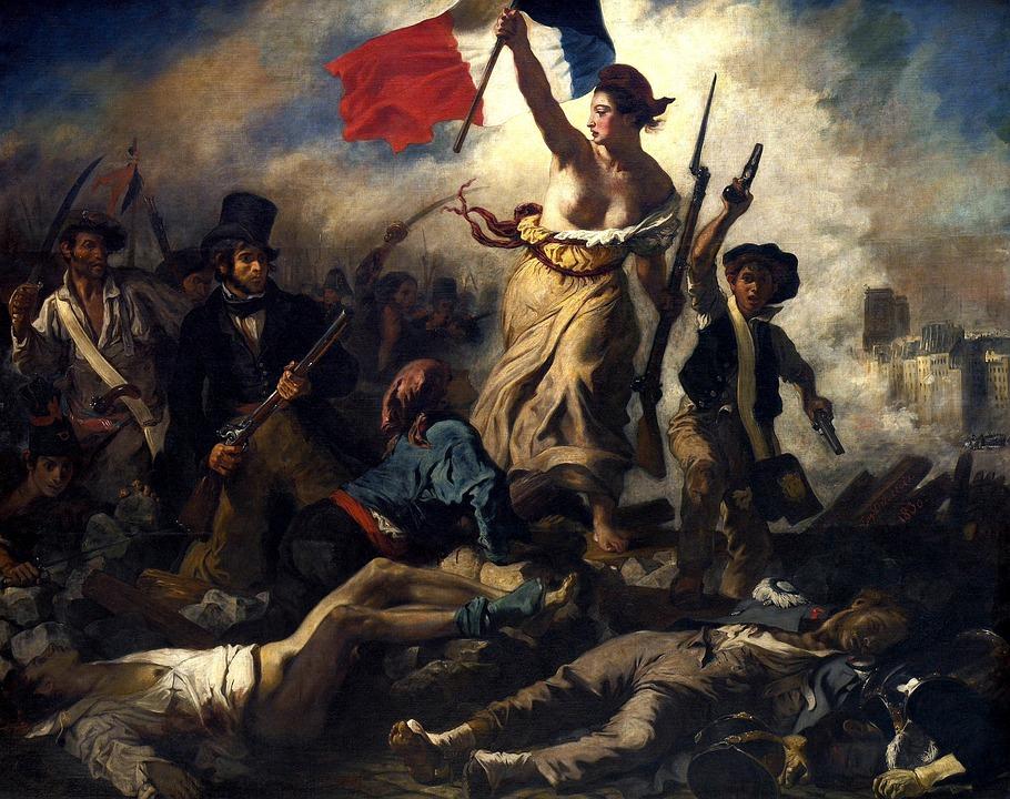 Francja, Rewolucja Francuska, Wojna Domowa, Wolność