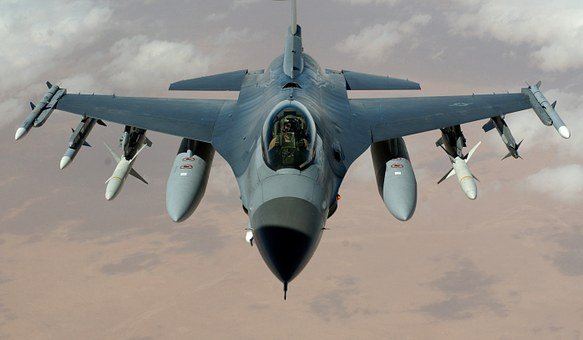 Fighter Jet Fighter Aircraft F 16 Falcon A