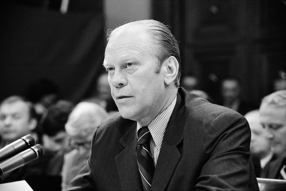 Τζέραλντ Φορντ, Πρόεδρος, Ηπα, Vereingte Μελών, Ακοής