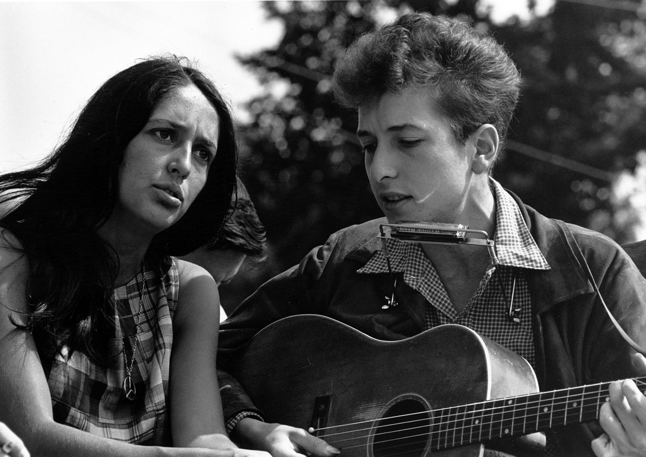 Bob Dylan Musician Joan Baez - Free photo on Pixabay