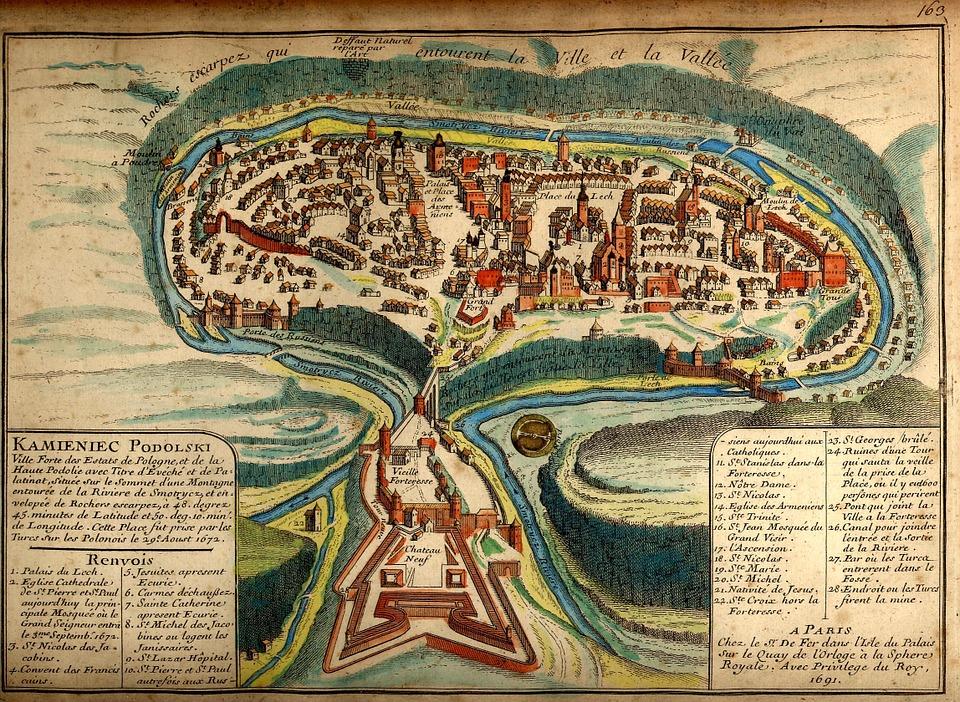 Landkarte Schatzkarte Mittelalter Kostenloses Bild Auf Pixabay