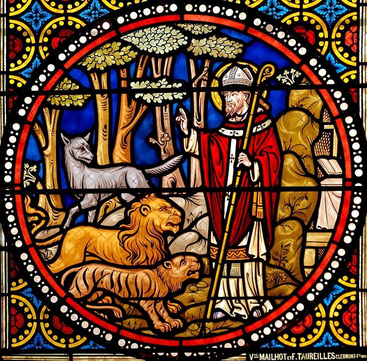 Stained Glass, Window Glass, Church Window