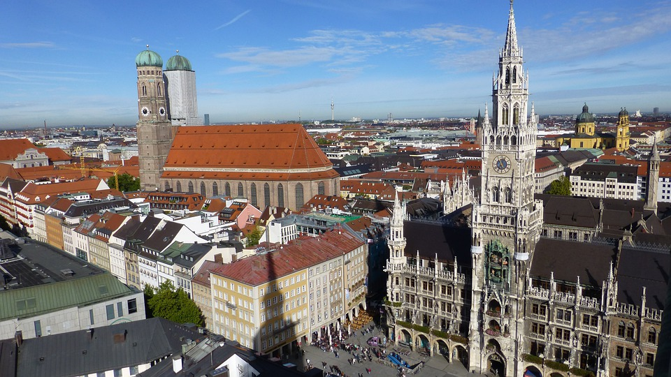 Bavaria, State Capital, Munich, Town Hall, Marienplatz