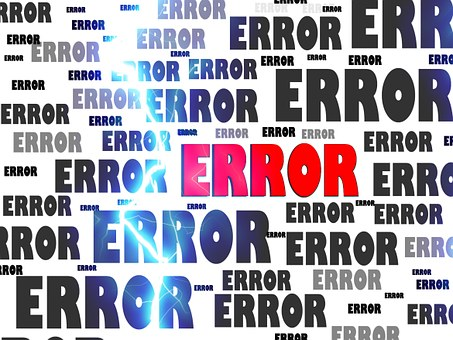Error Crash Problem Failure Computer False