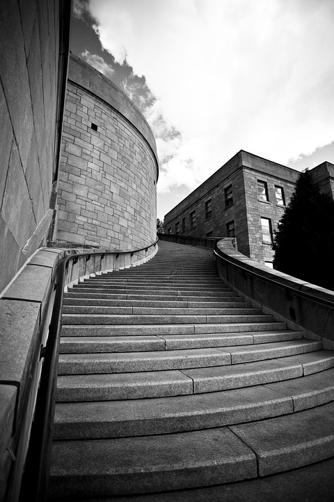 Free Photo Stairs Architecture Perspective Free Image