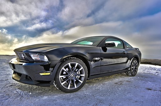 Ford, Mustang, Auto, Vehicle, Muscle