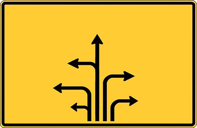 Road Sign Arrows Arrow · Free image on Pixabay | 640 x 418 jpeg 31kB