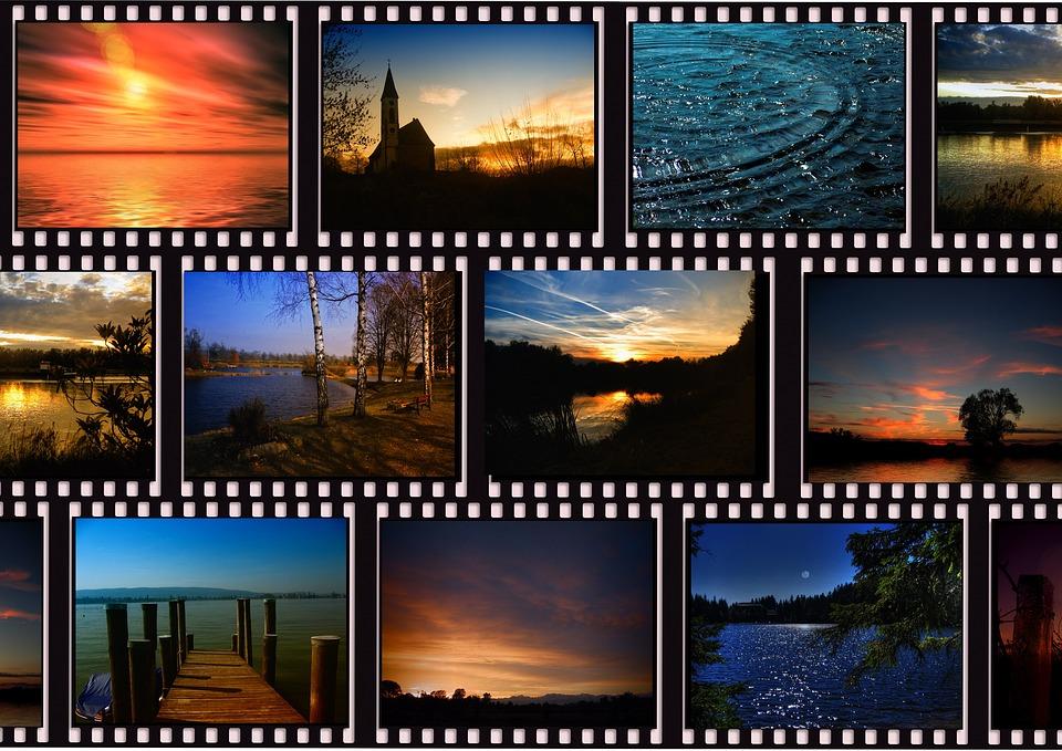 シネマ, 風景, 気分, 雰囲気, プロジェクター, 映画の映写機, デモ, 映画, フィルム ストリップ