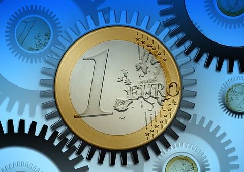 Gear, Gears, Euro, Forex, Dollar